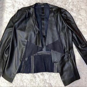 Zara Basics Leather Jacket